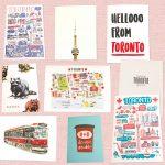 トロントのかわいいポストカード | 特集 カナダの大切な人へ贈りもの