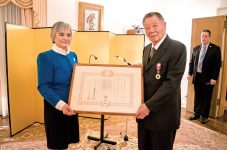 ロイ・タダヨシ・アサ氏 カナダにおける剣道の普及及び友好親善に寄与した功績で旭日小綬章を受章