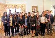 トロント大学の学生および日本語学習者によって構成された「カケハシプロジェクト」歓迎レセプションが総領事公邸で開催