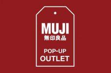 年末までの期間限定!「MUJI POP-UP OUTLET」が アトリウムモール内にオープン!