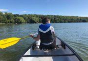 夏の終わりにBass Lakeでキャンプ