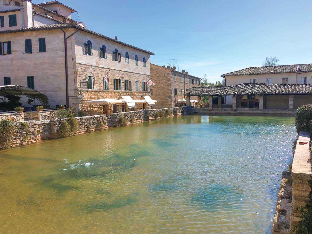 古代ローマ時代の温泉プール、バニョ・ヴィニョーニ