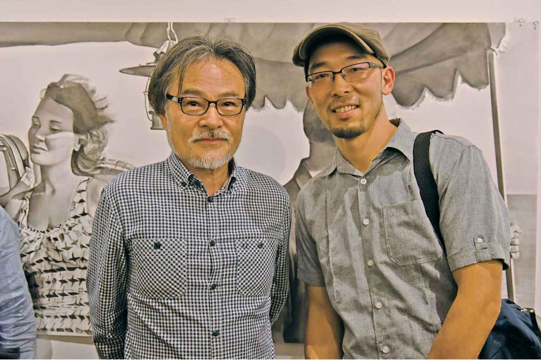 今回の黒沢監督の映画にも参加したフォーリー・アーティストの小山吾郎氏 (右)