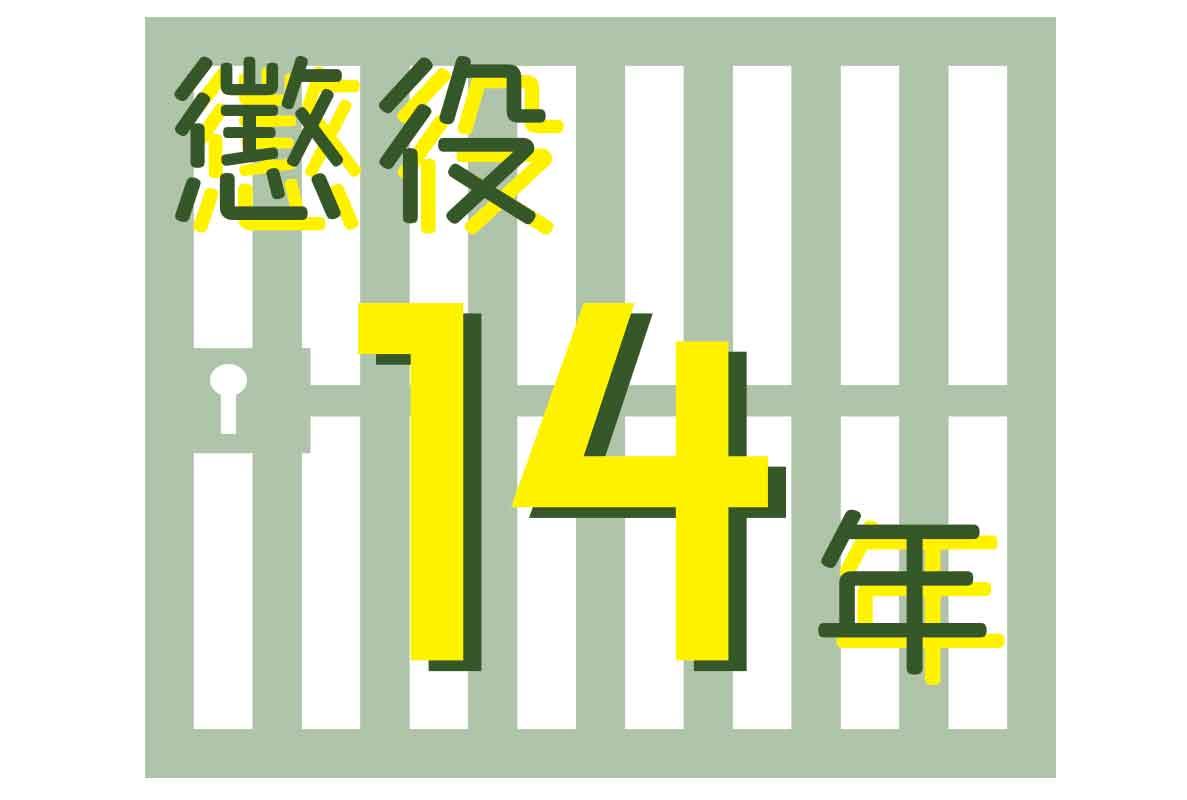 懲役14年