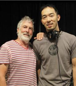師匠のAndyさんと小山さん