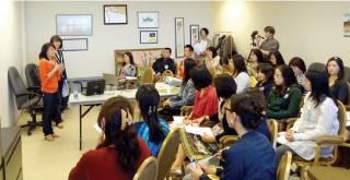 JCCCで行われたNJCA日本語教育プロジェクトセミナー