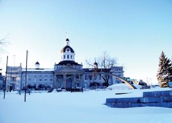 キングストン市庁舎_冬