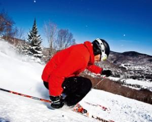滑りながらその先の景色を 楽しむことができる