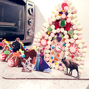 Let's build a.. gingerbread house?