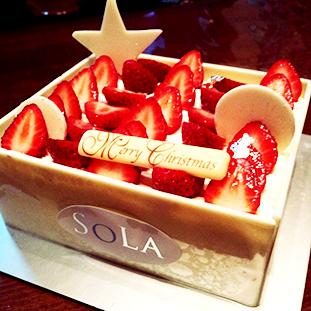 Xmas cake in Tokyo