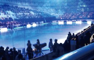 会場の写真Super Stars on ice