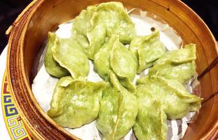 4.Chive & Shrimp Dumpling