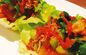 shrimp-lettuce-wrap
