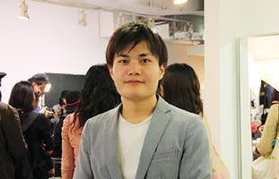 主催者でAir-Salon設立者の戸栗さん
