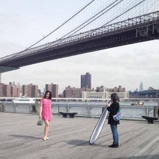 ブルックリンにてRish NYのファッション撮影
