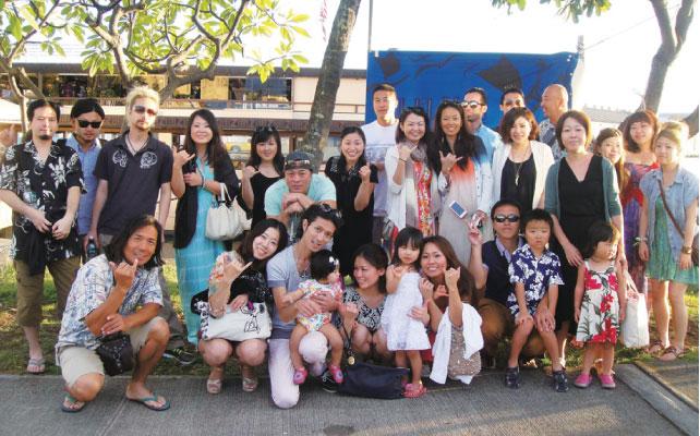 ZAKKUSHI GROUP毎年 恒例のハワイ社員旅行の ひとコマ