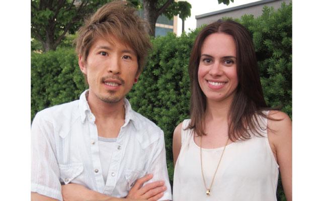 HIROさん(左)とCeliaさん(右)