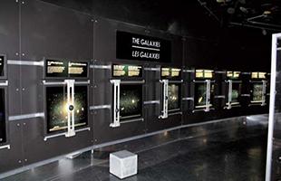 銀河系に関する展示