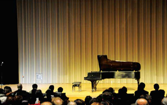 Glenn Gould Studio内