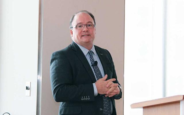 デロイト・カナダ社 チーフ・イノベーション・オフィサー Terry Stuart氏