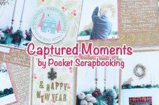 Captured Moments by Pocket Scrapbooking #28 ハンドドリップで楽しむコーヒーのことをPSページにまとめる