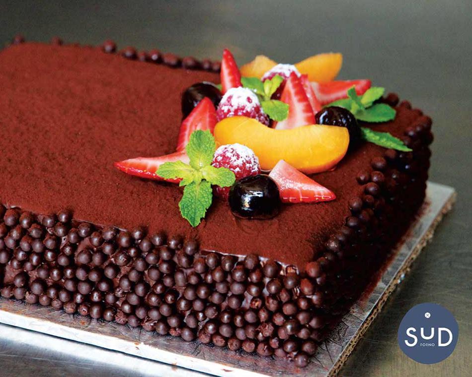 クリスマスにもぴったりのチョコレートケーキ