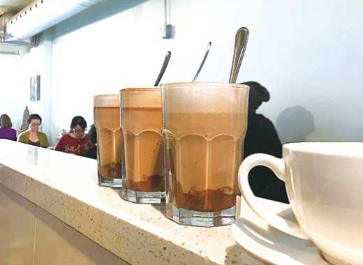 大人気のNutella Latte