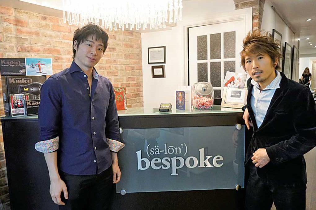 櫻井さん(左)とHiroさん(右)