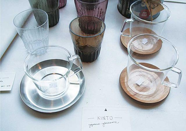 Kintoという品質にこだわった日本製ガラスのカップ