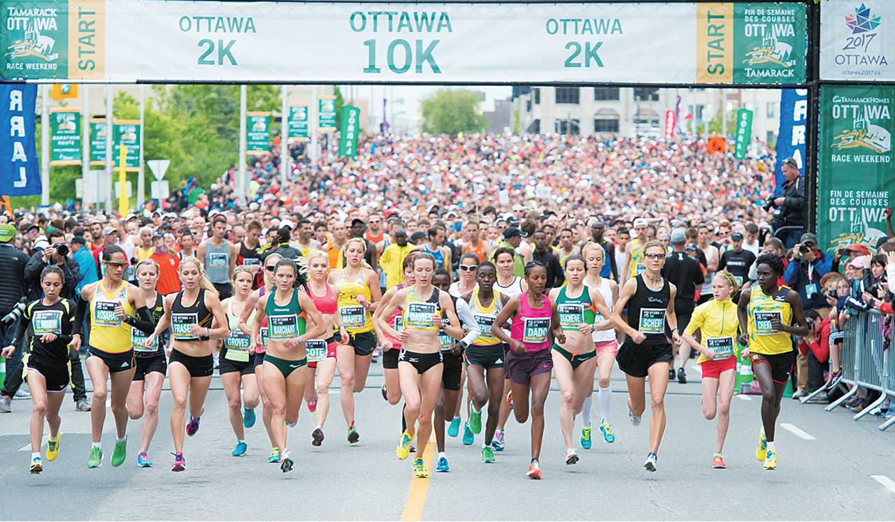 オタワ・マラソン ©Neil Robertson