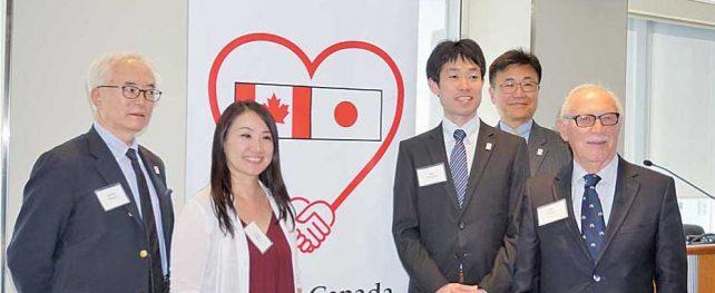 「歩こうカナダ、語ろうニッポン」日本からの派遣団員、トロントを初訪問