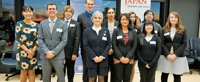 カナダと日本の架け橋となる人材育成に貢献したJETプログラム帰国者歓迎レセプション開催