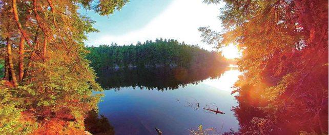 一泊、二泊のカヌーキャンプ オンタリオ州・アウトドアの魅力。楓の森の歩き方 第53歩