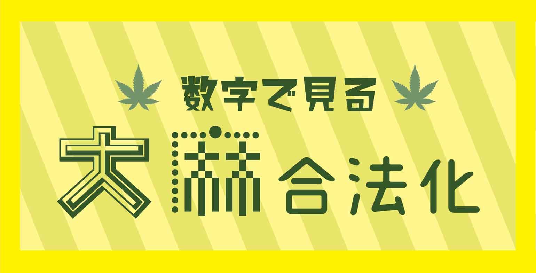 数字で見る大麻合法化