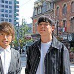 ヒロさん(左)と村本さん(右)