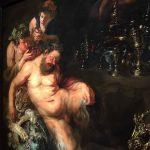 ルーベンス展の絵画のひとつ。泥酔した時にだけ預言が聞ける神様らしい。