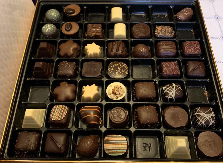 49個のチョコレート