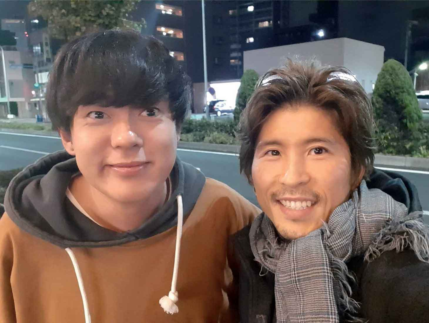 11月の帰国中には名古屋で再会