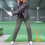 左膝を伸ばすコツ|新ミサキのカナダ・ゴルフライフ 第17回