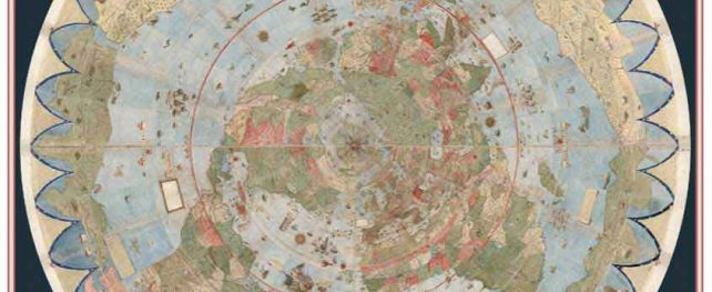 講演会 「The Italian Nobleman Urbano Monte's World Map of 1587: Sources, Development, and his Interest in Japan」