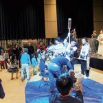 日系文化会館(JCCC)でお正月会が開催
