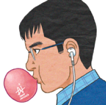 【4コマ漫画】マークと皆 by David Namisato Sep 2014