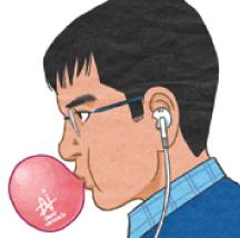 【4コマ漫画】マークと皆 by David Namisato July 2014