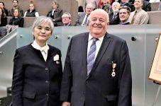 デビッド・ウェスリー・モリソン氏 日本・カナダ間の友好親善及び相互理解の促進に寄与した功績で旭日双光章を受章