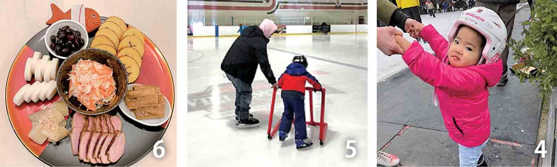 42歳じゃまだアイススケートは早いかな? 5私もマイシューズをゲットして久しぶりのアイススケートに挑戦 6今年は珍しく、家族だけのお正月でした
