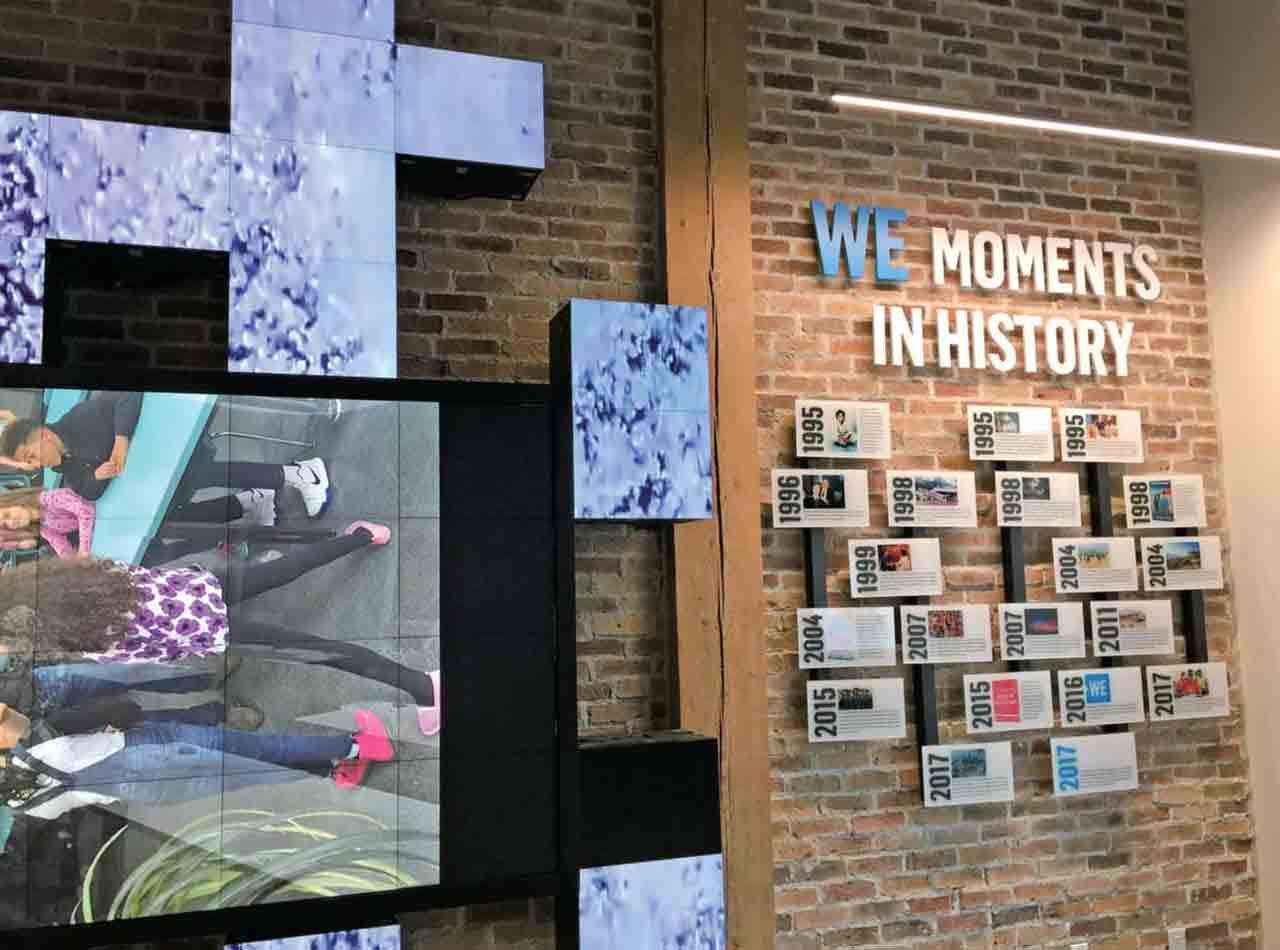 国際協力団体「WE」のオフィスを見学