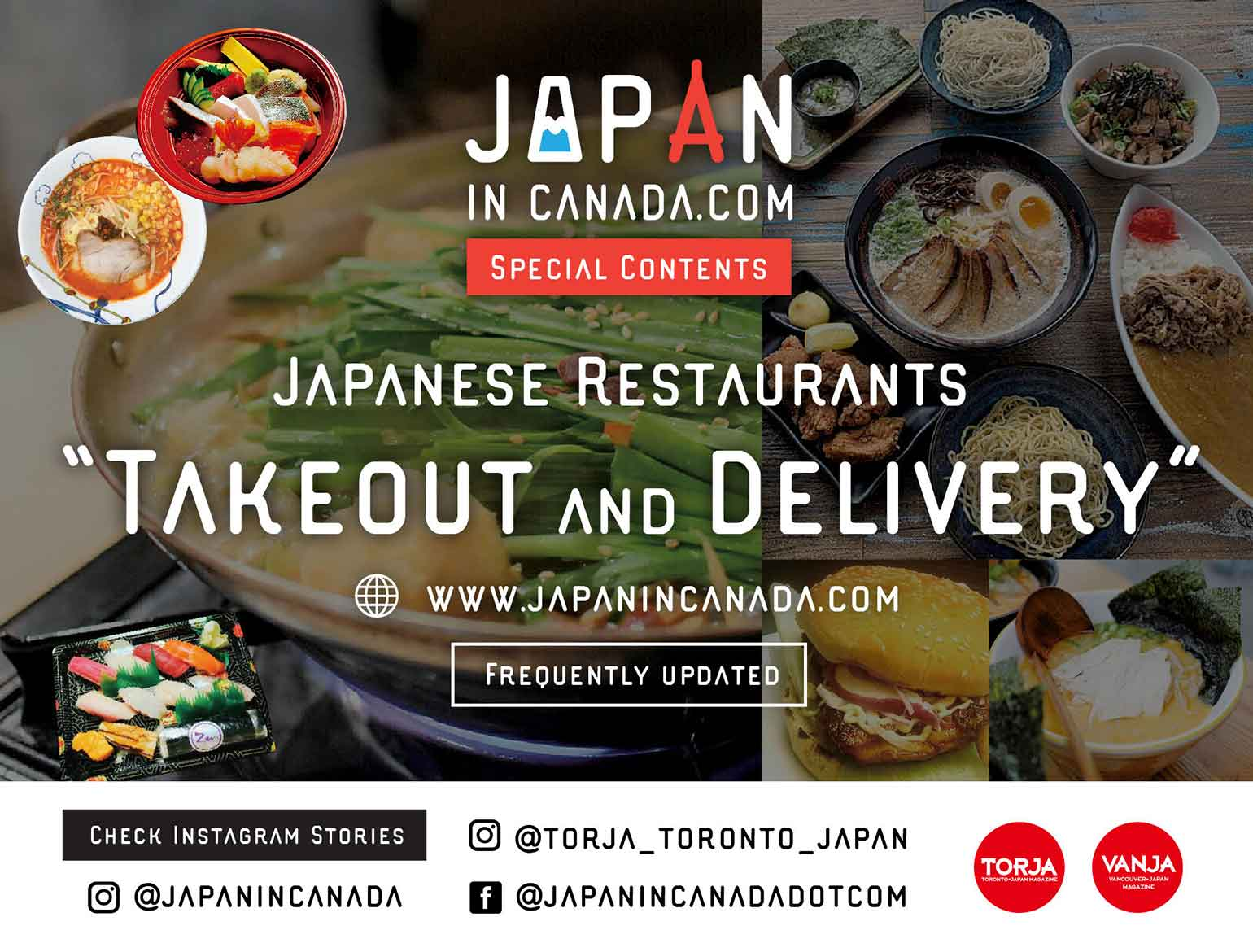 JAPANESE FOODS TAKEOUT・DELIVERY