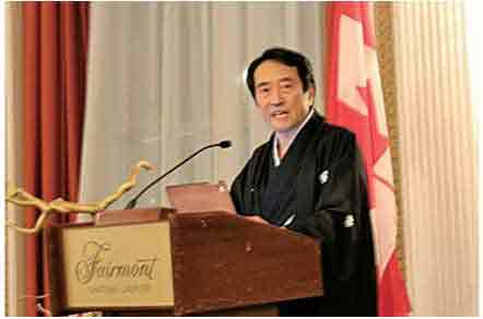 川村泰久在カナダ大使