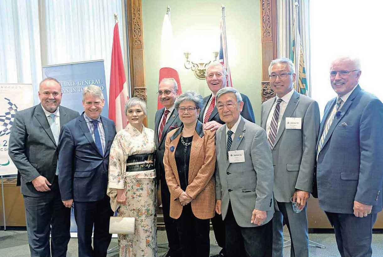 オンタリオ州議事堂にて日・オンタリオ州関係祝賀レセプションを開催