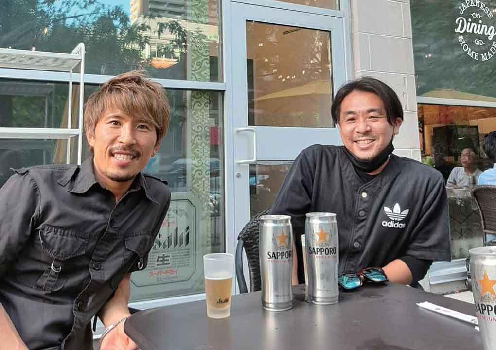 ヒロさん(左)と海上さん(右)